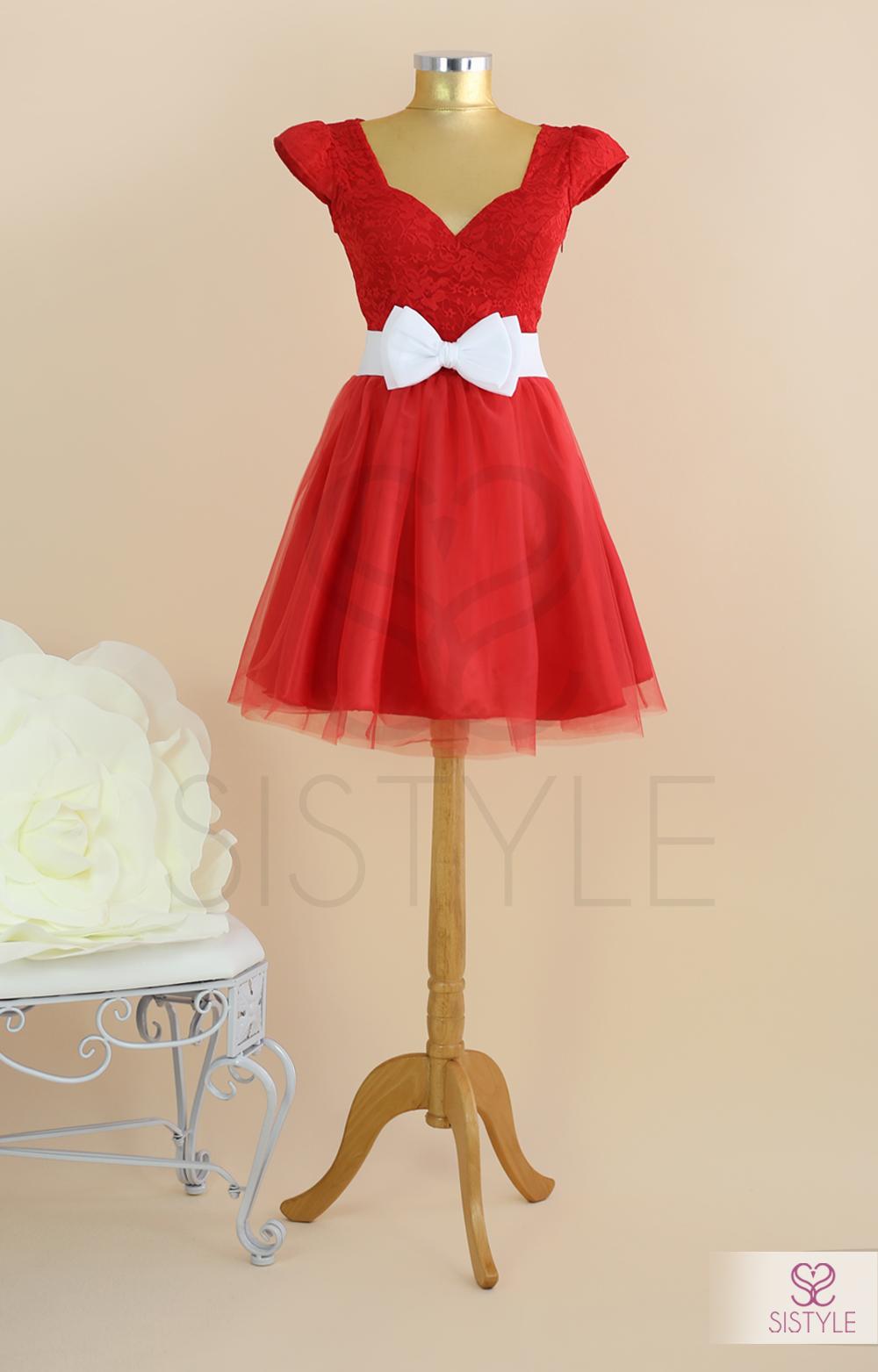 rochie de vara rosie