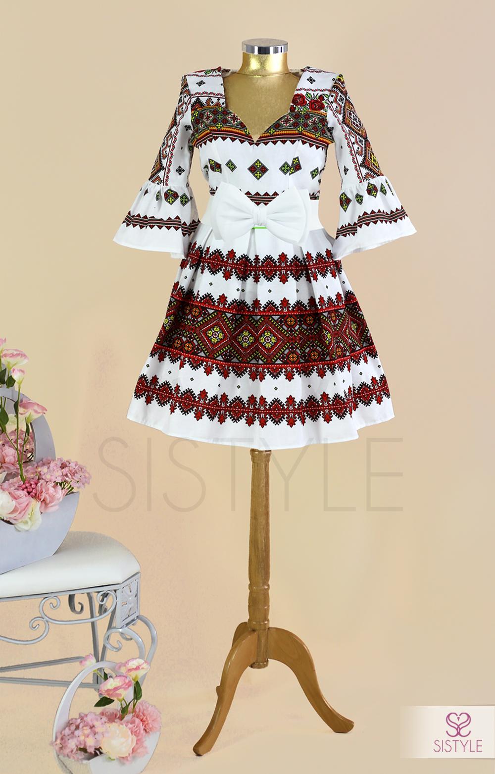 rochie traditionala de dama