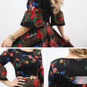rochie tiganeasca detalii