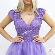 rochia lila detaliu