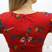 rochie cu fermoar spate