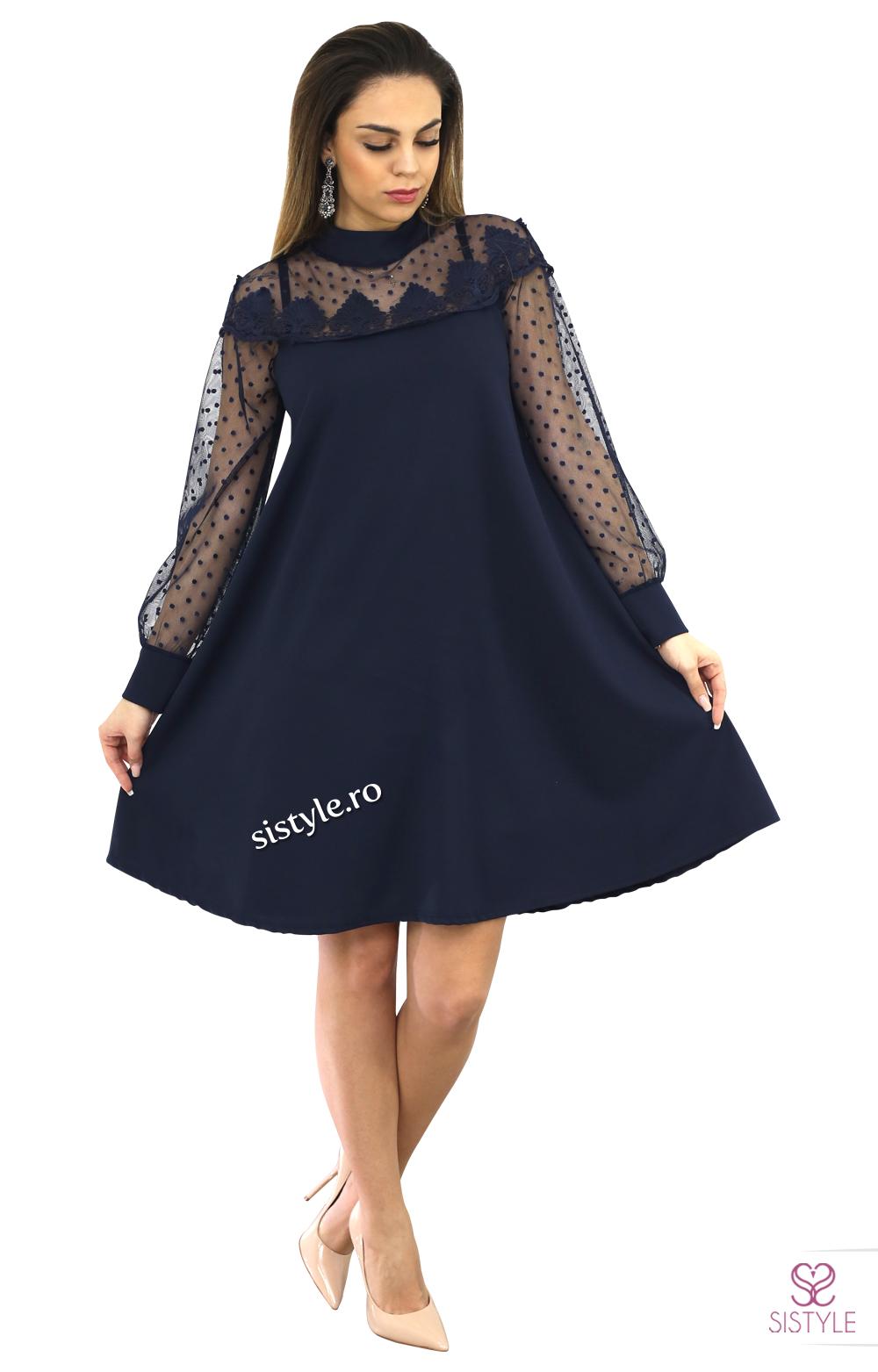 rochie de bal cu maneci