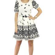 rochie de bal ivoire