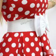 rochie de banchet cu fundita