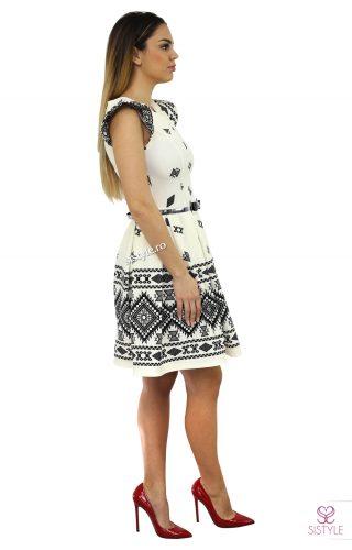 rochie de banchet ivoire