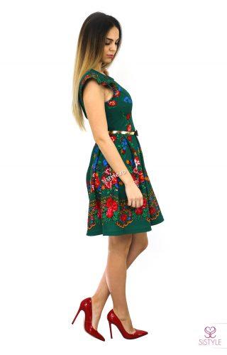 rochie de ocazie cu flori