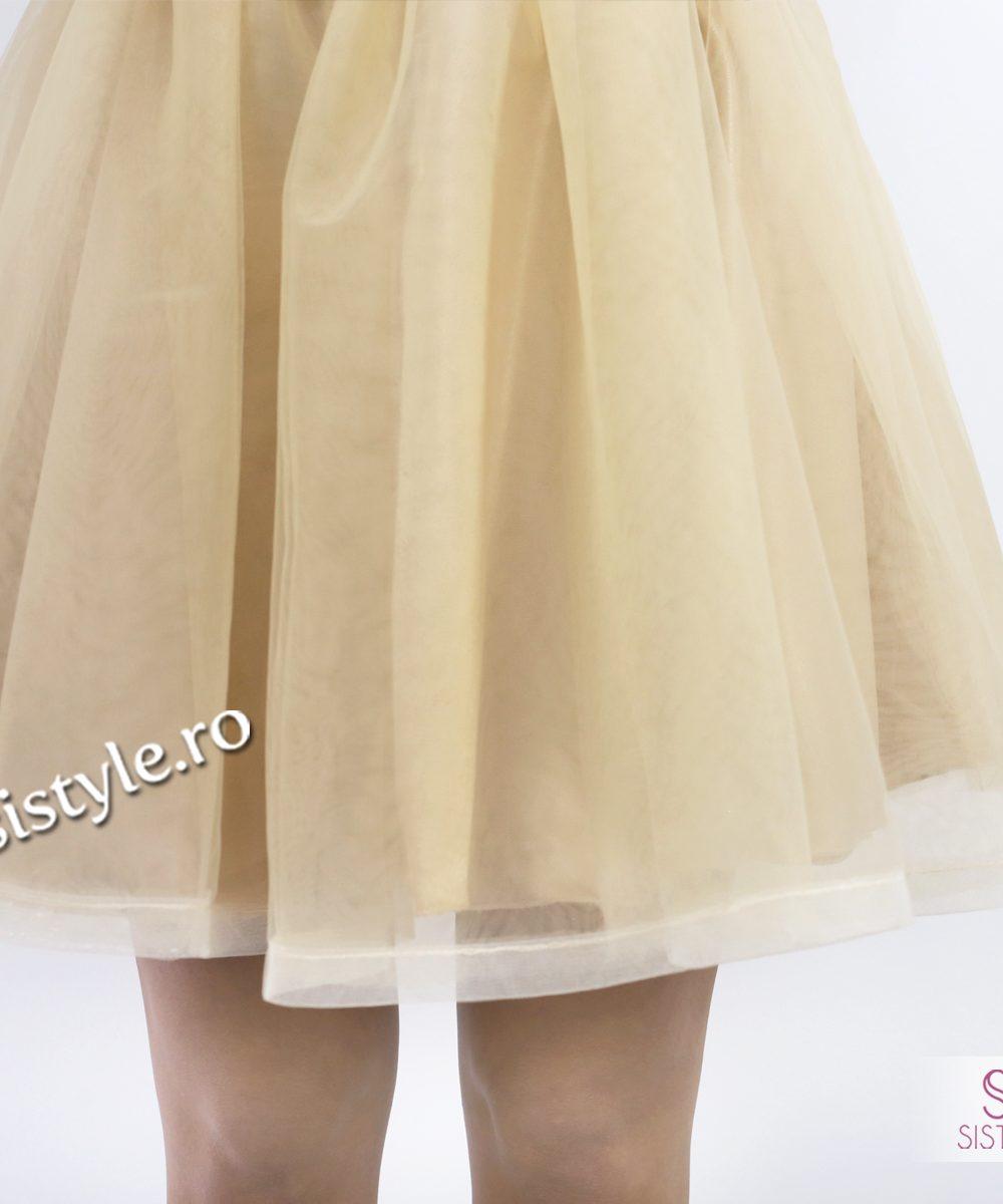 rochie de ocazie dantela detaliu