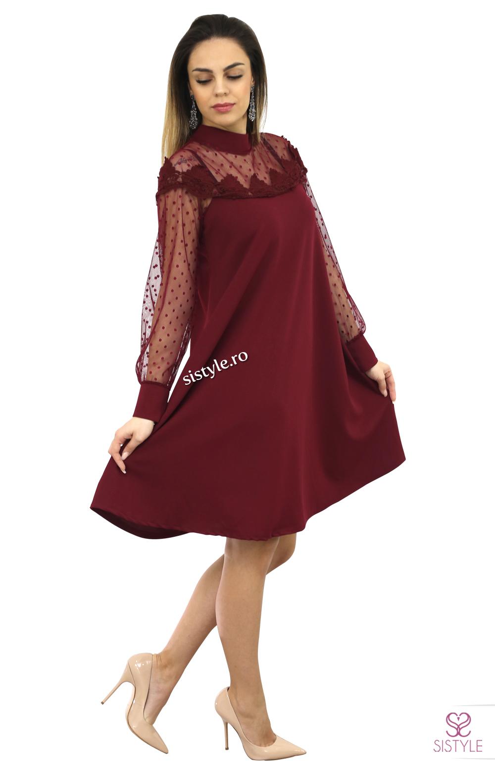 rochie de ocazie grena