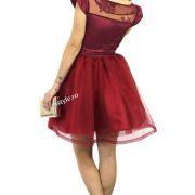rochie de ocazie scurta grena