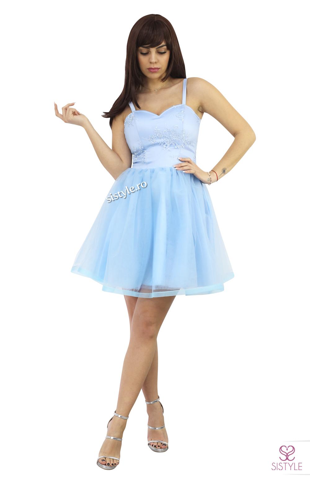 rochie de seara bleu