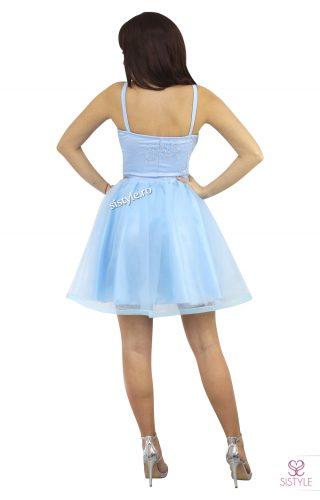 rochie de seara tull bleu