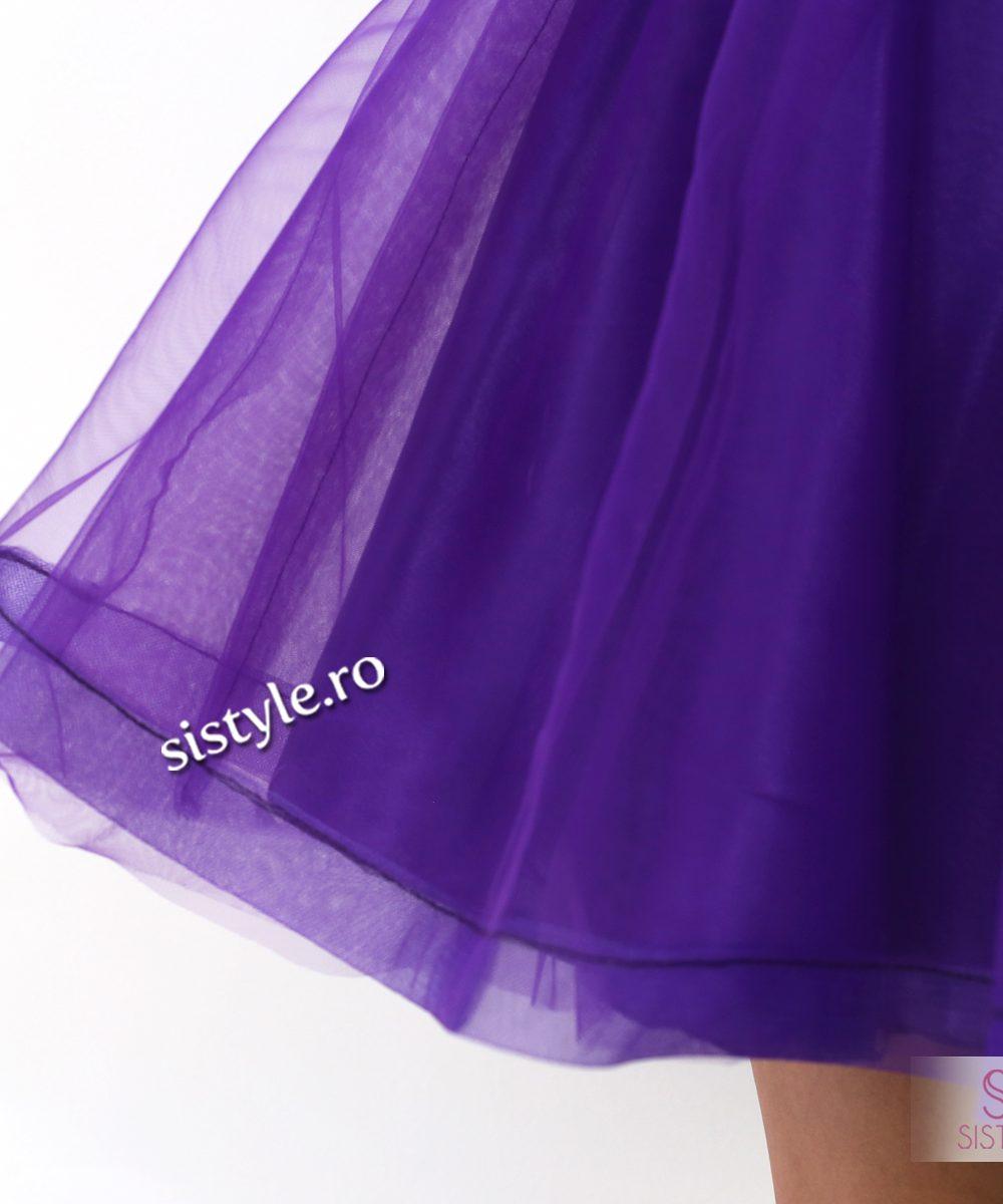 rochie de seara tull detaliu01