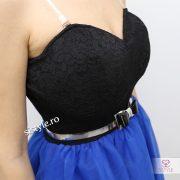 rochie cu corset detaliu