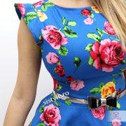rochie cu flori detaliu