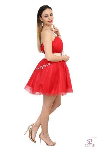 rochie de banchet rosie