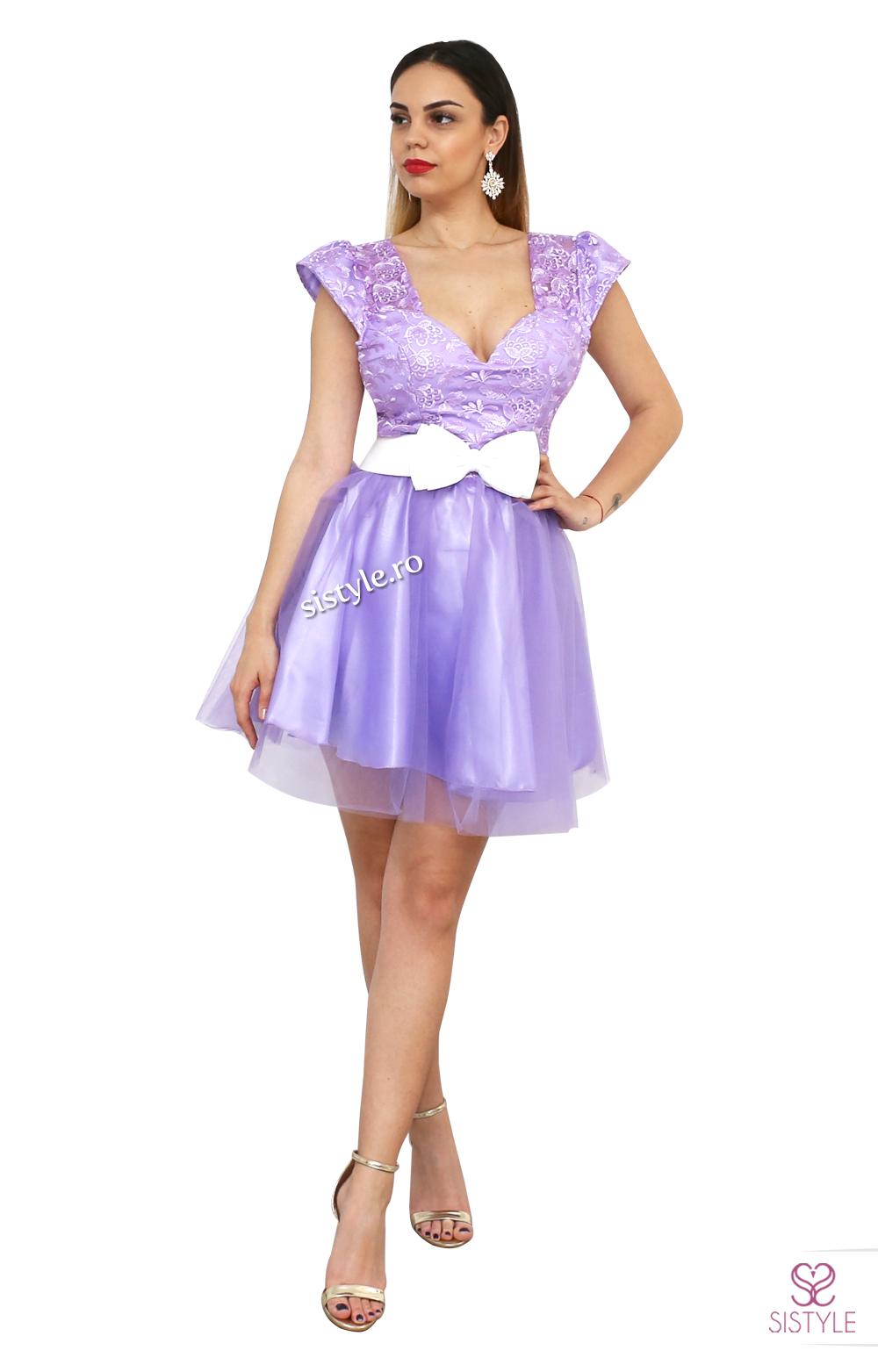 rochie de banchet violet