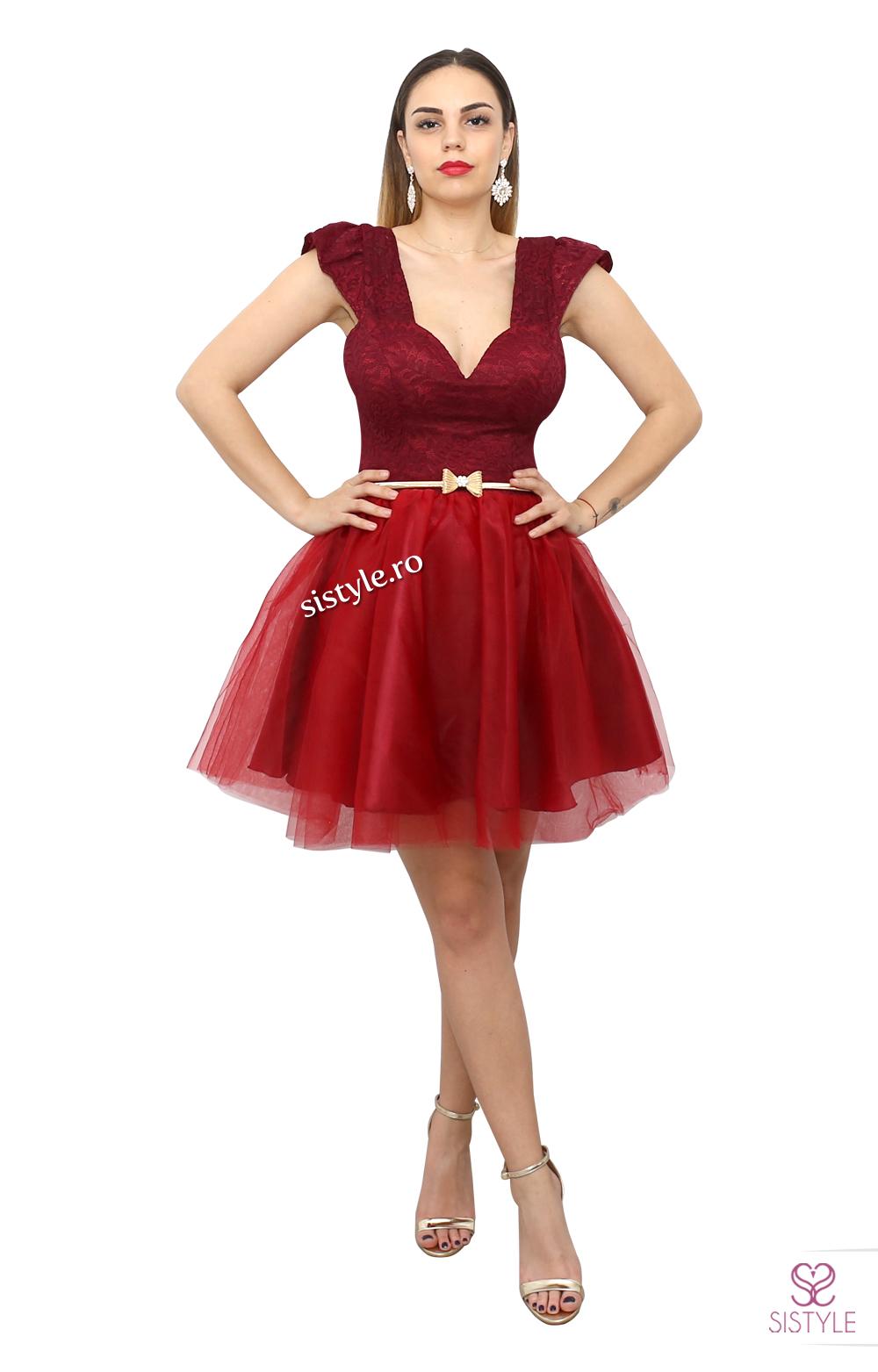 rochie de ocazie cu dantela