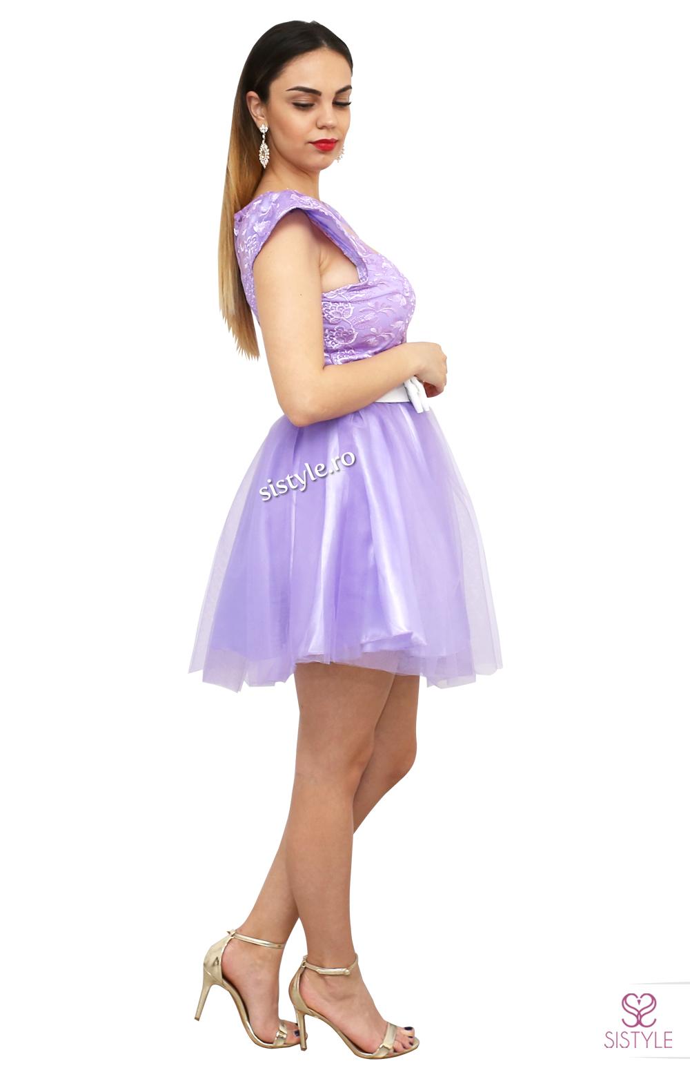 rochie de ocazie violet